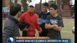 Fuerte Apache, el barrio de Tevez -  Telefe Noticias