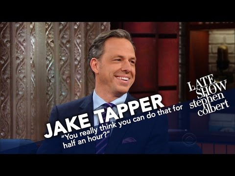 Jake Tapper s Job Isn t To Be Liked