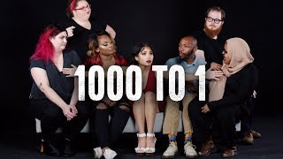 7 Strangers Decide Who Wins $1000 | 1000 to 1 | Cut