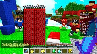 HOW TO GET UNLIMITED HEARTS in MINECRAFT BED WARS!