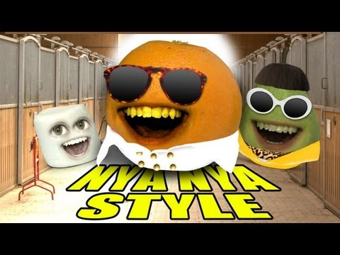 Annoying Orange ORANGE NYA NYA STYLE GANGNAM STYLE PARODY