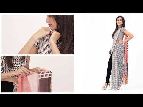 Xxx Mp4 How To Wear A Saree Pant Style Fashion For Girls Glamrs 3gp Sex