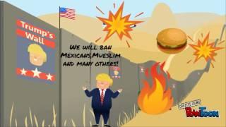 US election, Powtoon Presentation!