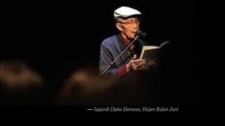 Puisi : Hujan Di Bulan Juni - Sapardi Djoko Damono