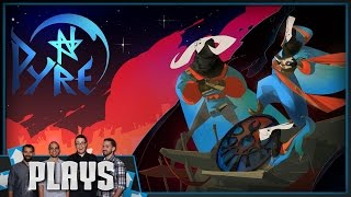Like Bastion and Transistor? Let's Play Pyre! - Kinda Funny Plays