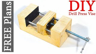 Shop Made Wooden Vise / FREE PLANS