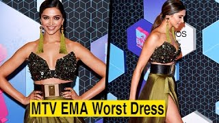 Deepika Padukone In The Worst Dressed Category | MTV EMAs 2016