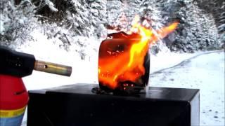 Toilet Paper vs Gas Torch