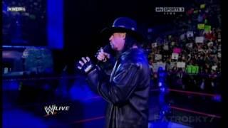 WWE 2010 Raw (Español) - The Undertaker y Shawn Michaels cara a cara (1/2)