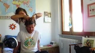 STRONGER HAIR and ASMR Scalp massage  PART 1 - *natural sounds*
