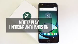 Moto Z Play Unboxing and Hands On (Indian Retail Unit) | Techniqued