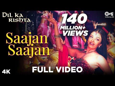 Saajan Saajan Full Video - Dil Ka Rishta | Arjun Rampal & Aishwarya Rai | Jaspinder Narula