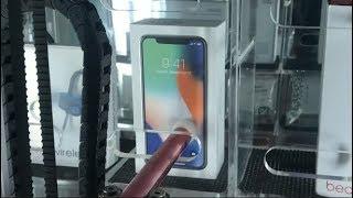 iPhone X ARCADE GAME WIN!!! | JOYSTICK