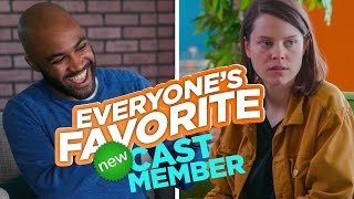 Everyone's Favorite New Cast Member