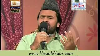 Syed Zabeeb Masood At Qtv Program Naat Zindagi Hai 25-04-2014 With Sarwar Naqshbandi.By Visaal
