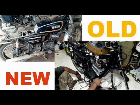 Xxx Mp4 Yamaha RX 100 Restoration Old To New Look Bullet Singh Boisar 3gp Sex