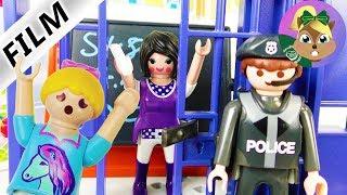 فيلم بلايموبيل-سجن فى المدرسة! المدرسة الغاضبة فى السجن! الأسرة الطيور