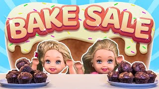 Barbie - The Twins' Bake Sale