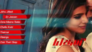 Theri Official Full Songs   Vijay, Samantha, Amy Jackson   Atlee   G V Prakash Kumar   Audio Jukebox