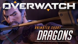 Overwatch Animated Short - Dragons - Genji vs Hanzo Cinematic Trailer (PC, Xbox One, PS4)