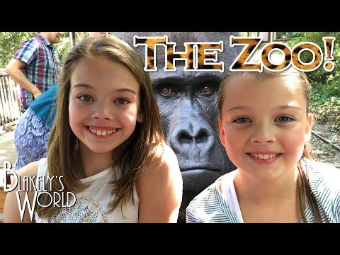 Blakely and Whitney at the Zoo