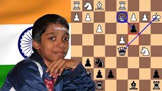 Youngest International Chess Master in History (Praggnanandhaa)