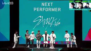 Stray Kids dancing EXO, BTS, Twice and GOT7 at KCON NY
