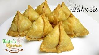 Samosa Recipe - Aloo Samosa Recipe - Punjabi Samosa Recipe - Indian Snack Recipe - Lata's Kitchen