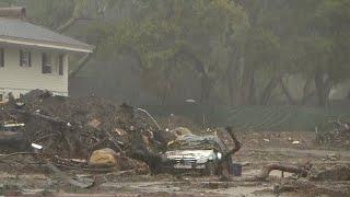 Storms threaten mudslides in Southern California