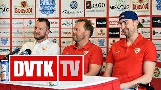 Indul a Visegrád Kupa rájátszása | 2017. október 3. | DVTK TV