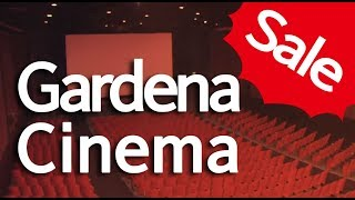 Gardena Cinema, old-fashioned single screen movie theater, looking for a buyer