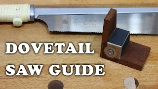 Making A Magnetic Dovetail Saw Guide
