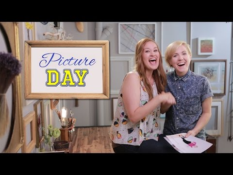Hannah Hart's Sexy Bieber Re-Do | Picture Day with Mamrie Hart! // I love makeup.