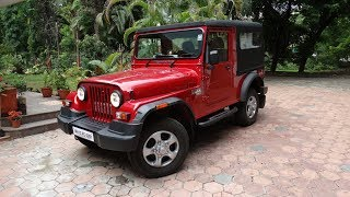2017 Mahindra Thar CRDe - Full Take Review