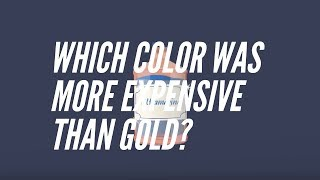 A History of Color: Ultramarine