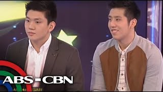WATCH  Teng brothers compete for a girl's number