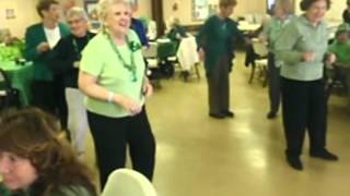 Piermont Seniors St  Patricks day party March 15 2012 video by Art Cooke Large