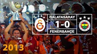Süper Kupa 2013 | Özet: Galatasaray 1--0 Fenerbahçe
