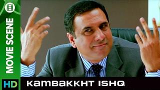 Boman Irani tells the miracle   Kambakkht Ishq   Movie Scene