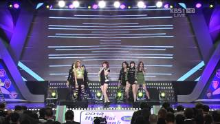 Girl's Day - Don't Forget Me 2012 Korea K-League Awards 121203