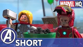 Iron Man Throws a Surprise Party! | Marvel LEGO: Avengers Reassembled! | Episode 1