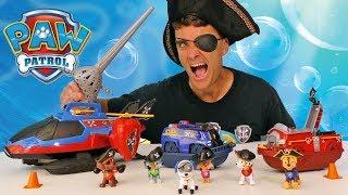 Paw Patrol Pirate Pups ! || Toy Review || Konas2002