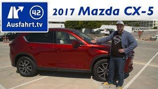 2017 Mazda CX-5 Skyactiv-G 160 AWD MT Sports Line - Fahrbericht der Probefahrt, Test, Review