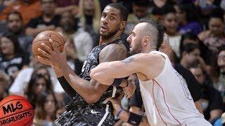 San Antonio Spurs vs Washington Wizards Full Game Highlights / March 21 / 2017-18 NBA Season