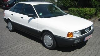 Audi 80 2.0 E Typ B3 Kaufberatung