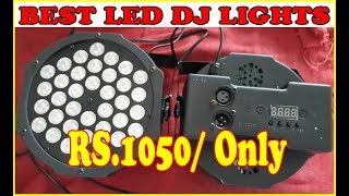 LED DJ lights.36 led