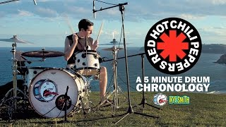 Red Hot Chili Peppers: A 5 Minute Drum Chronology - Kye Smith [4K]