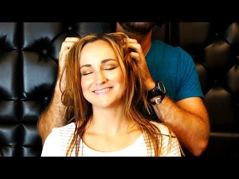 ASMR Scalp Massage & Head Scratching Ear to Ear Soft Spoken, Relaxation & Sleep