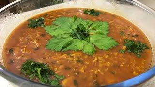 آموزش سوپ جو قرمز رستوراني از صفر تا صد (جوادجوادي)