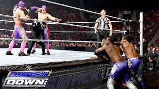 Los Matadores & El Torito vs. The New Day – 6-Being Tag Team Match: SmackDown – 20. August 2015